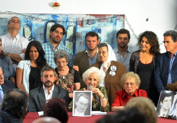 Abuelas de Plaza de Mayo encontró al nieto 119: su madre está viva
