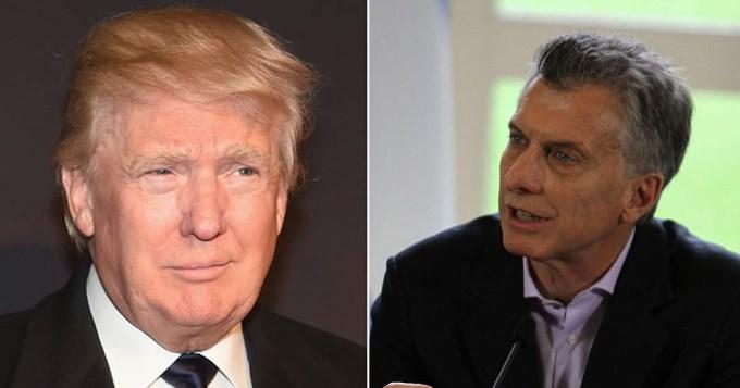 Trump a Macri: