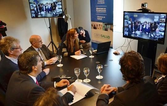 Plan Nacional de CIBERSALUD: Cronograma de videoconferencias esta semana