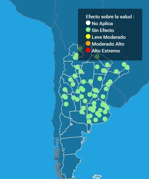 Estado del Sistema de Alerta Temprana por Olas de Calor y Salud (SAT-OCS)
