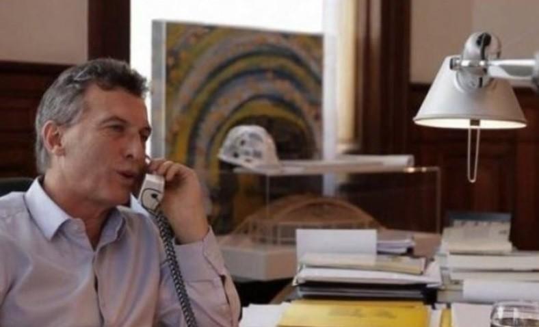 Mauricio Macri se comunicó con una radio del Rodeo