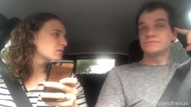 La pareja del Mundial y un nuevo video viral: esta vez sobre el cambio de fecha de la final de la Copa Libertadores