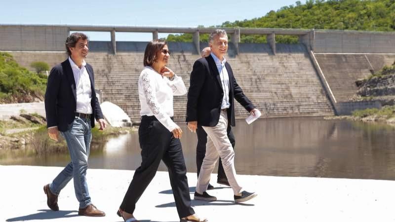 Corpacci agradeció al gobierno de Macri por continuar con la obra del Bolson