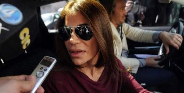 Zulemita viaja a Chile con Carlos Menem