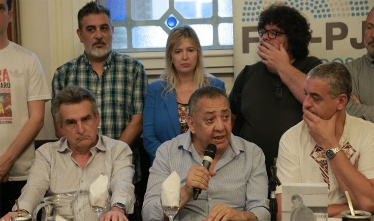 """El kirchnerismo denunció """"persecución judicial"""" hacia Luis D'Elía"""
