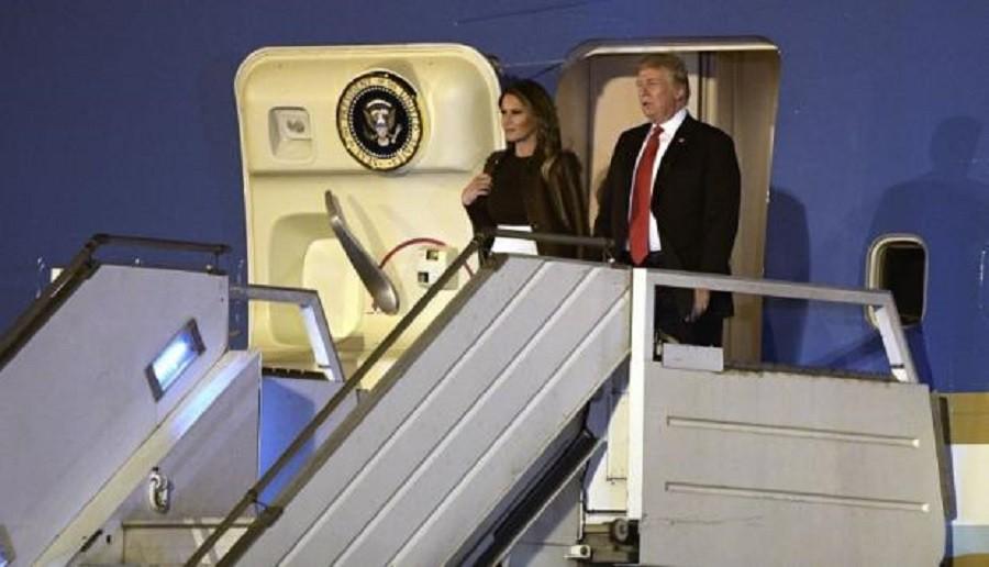 Donald Trump llegó a Buenos Aires para asistir a la cumbre del G20