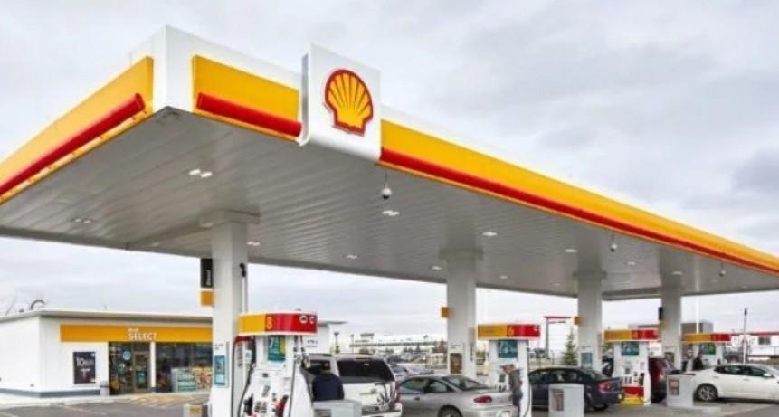 Shell bajo sus combustibles hasta un 2,7%