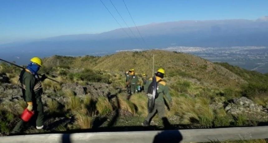 Restablecieron el servicio de energía en el cerro Ancasti