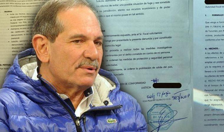 Mariano Cúneo Libarona abogado de Alperovich aseguró que es un operativo en contra