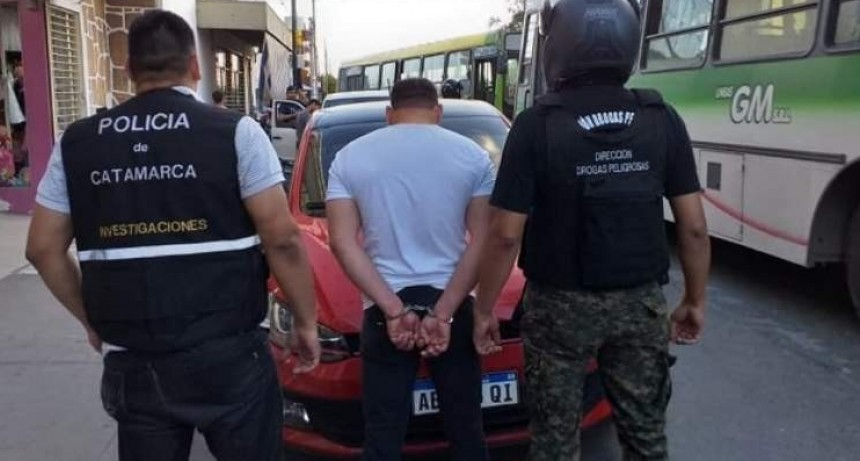 Capturan a un peligroso narco