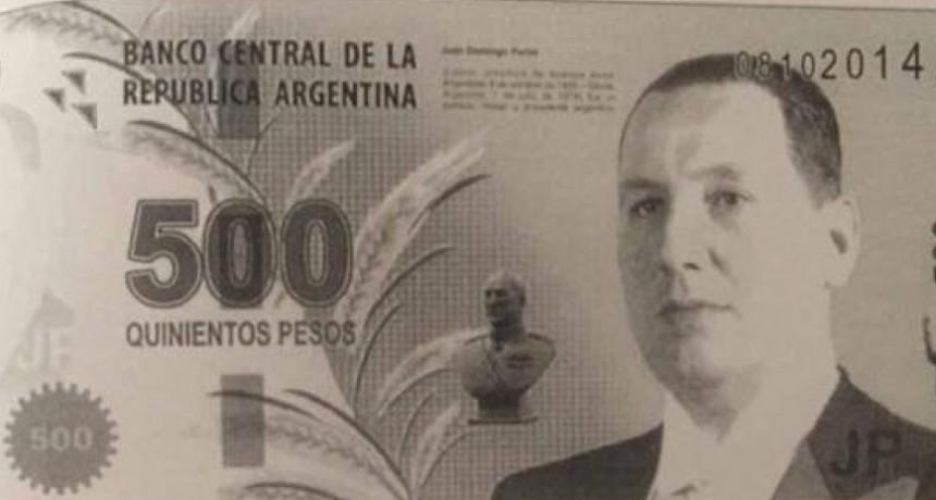 ¿Juan Domingo Perón reemplazará al yaguareté en el billete de 500 pesos? Es el pedido al presidente electo en las redes
