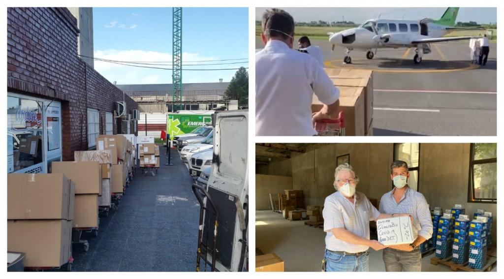 Nación envió más respiradores, bombas de infusión volumétrica, monitores multiparamétricos y equipos aerobox