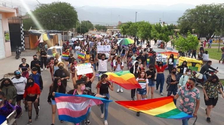 Se realizó por primera vez la Marcha del Orgullo en Santa María