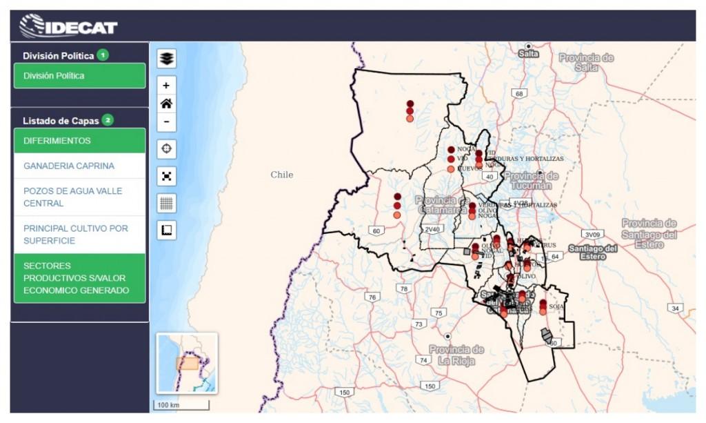 Avanza el desarrollo del Mapa Productivo Provincial