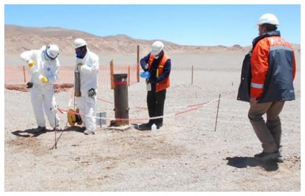 Inspección de Minería en emprendimientos de litio