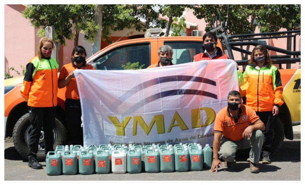 Donación de YMAD a Defensa Civil
