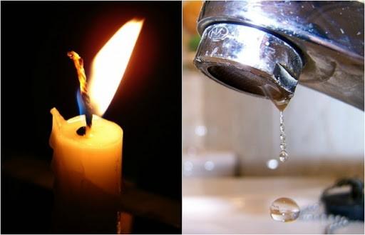 A las altas temperaturas se sumó los cortes de luz y agua en toda la provincia