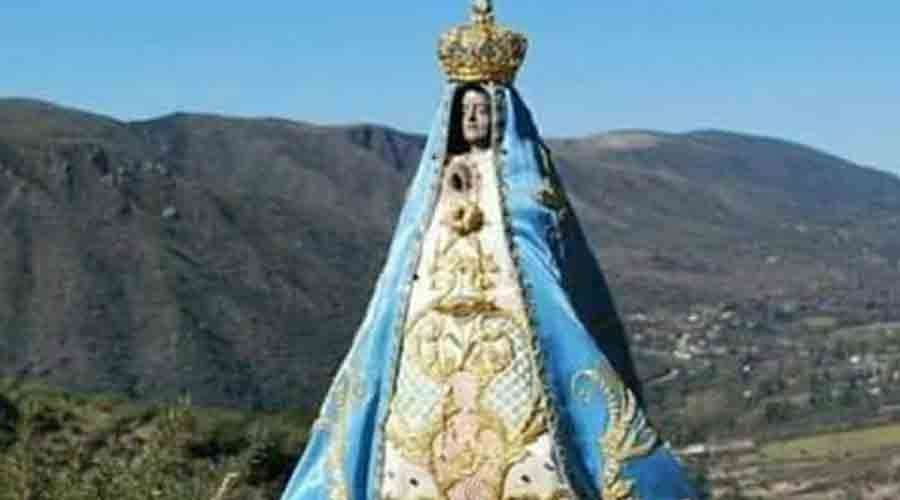 La Provincia y el Correo Argentino preparan una estampilla por los 400 años de la aparición de la imagen de la Virgen del Valle