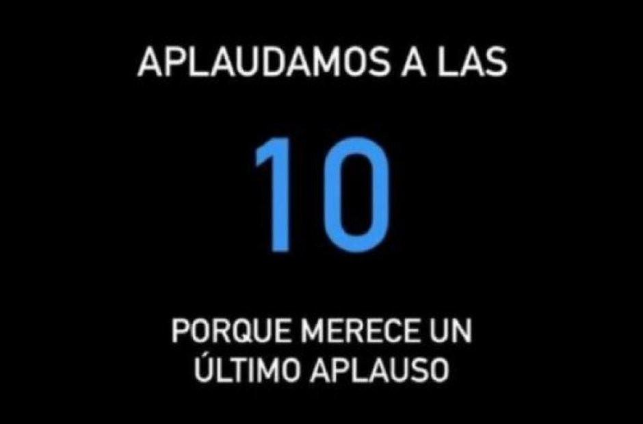 Convocan en redes sociales a un aplauso nacional para despedir a Diego a las 22
