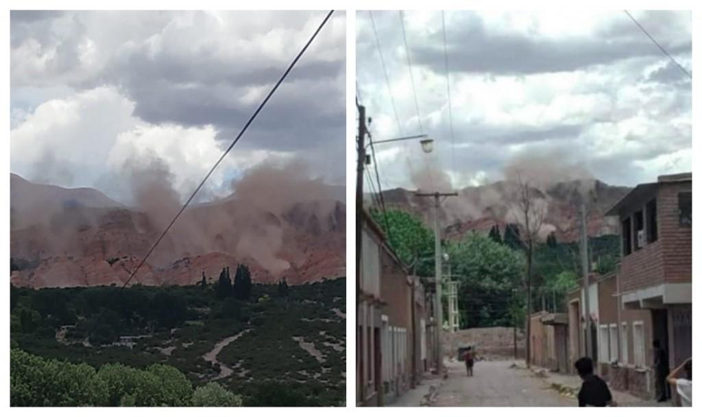Un sismo de 5.9 sacudió fuerte a Salta y Jujuy y provocó derrumbes