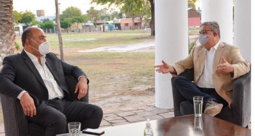 Los gobernadores de Catamarca y Tucumán acuerdan gestiones conjuntas para obras viales regionales