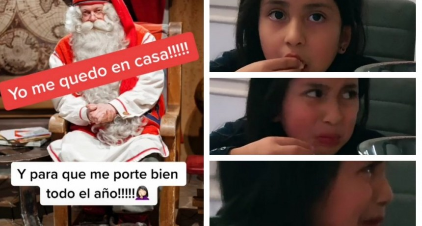 """""""Papá Noel no vendrá este año"""": la broma de padres a hijos que se volvió viral en TikTok"""