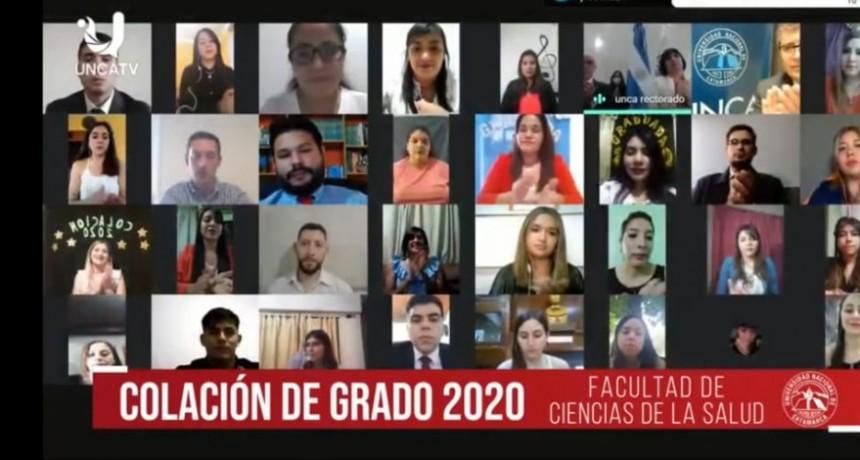 Se recibieron 41 nuevos profesionales de la Salud