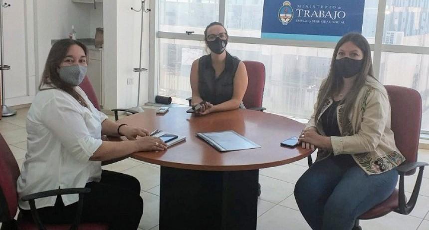 Reunión del Centro Terapéutico con la Agencia Territorial