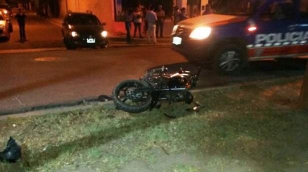 Motociclista defendio a una mujer en intento de robo