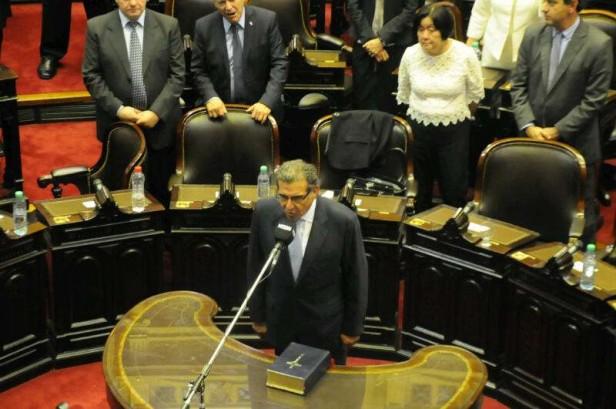 Y Beder Herrera juró como diputado nacional