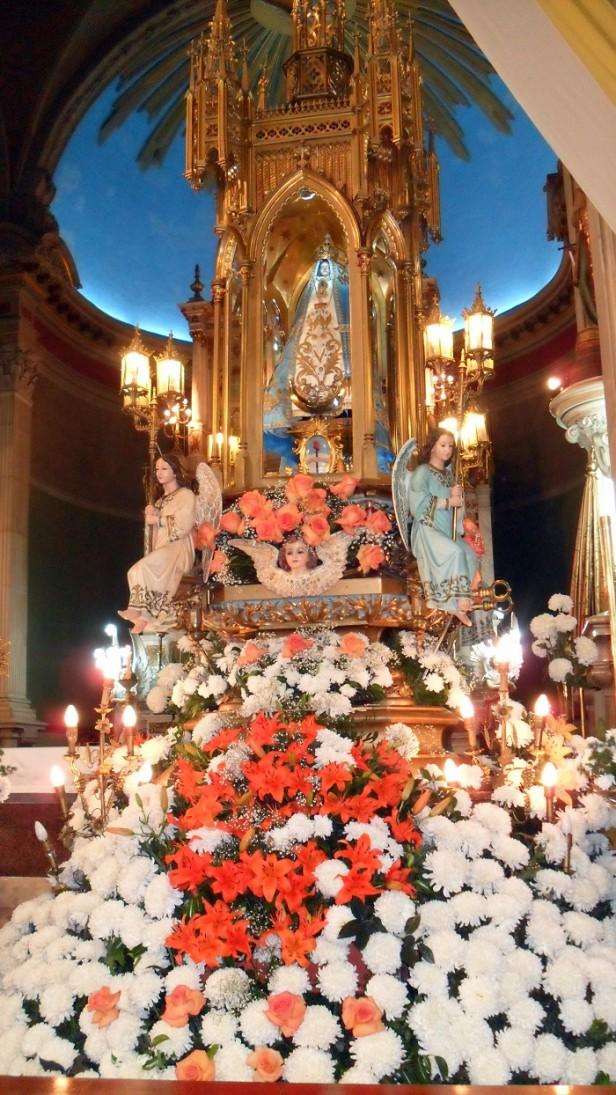 Con la Solemne Procesión culminan hoy las fiestas de la Virgen del Valle
