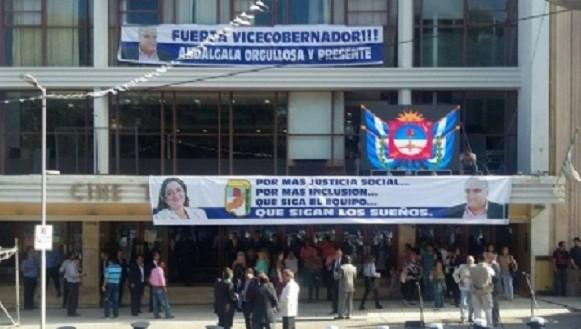 Comenzó la Asamblea Legislativa,en el cine teatro Catamarca