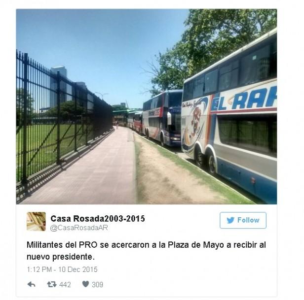 Desde el Twitter de Casa Rosada, chicanas contra el Presidente Mauricio Macri