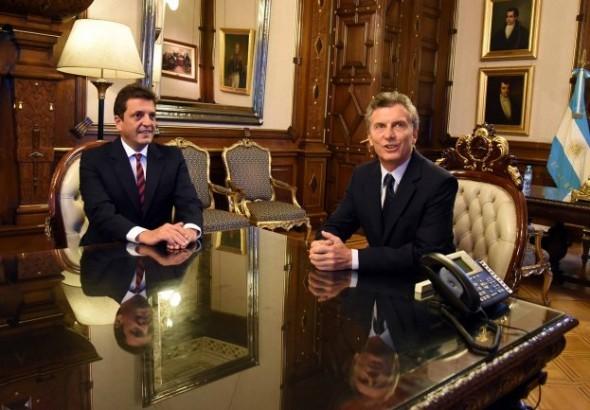 Massa se reunió con Macri: