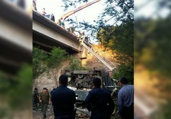 Gendarmes muertos se dirigían a Jujuy para prevenir posibles disturbios de la Tupac Amaru