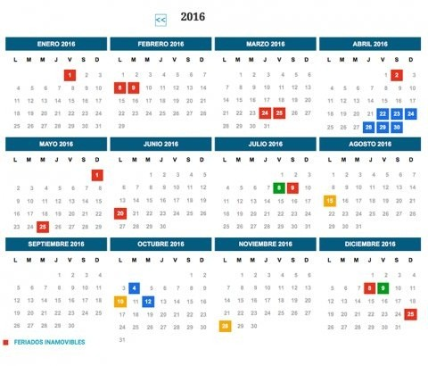 Feriados 2016: el gobierno de Macri mantendrá el esquema vigente