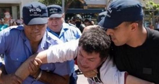 Alejandro Pachao:El padre de Diego,denunció represión y responsabilizo a Corpacci