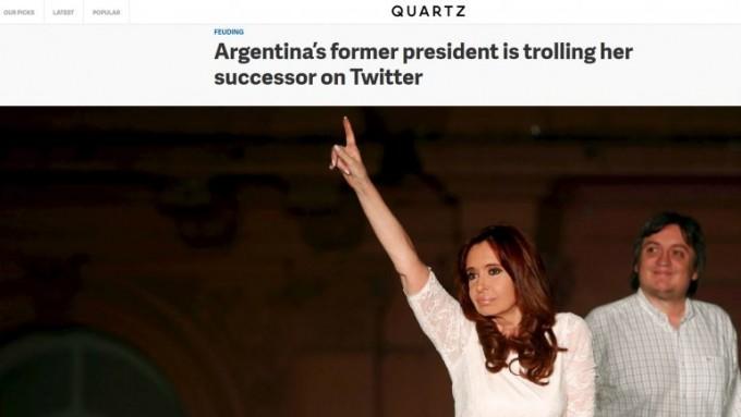 La pelea por el Twitter de Casa Rosada llegó a Estados Unidos: el