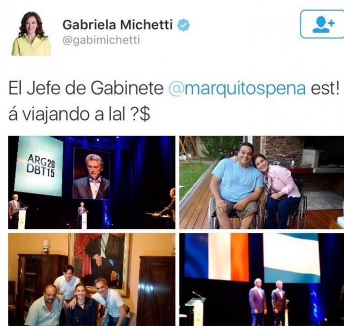 Inundaciones: la polémica burla de Jorge Rial sobre Michetti