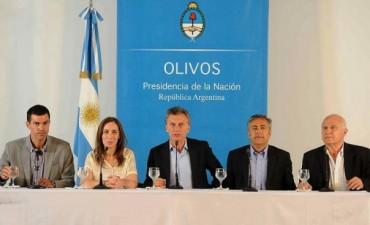 Macri con los gobernadores: