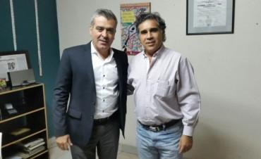 Cano recibió a Chico por el Plan Belgrano:El Funcionario Nacional llega a Catamarca la próxima semana