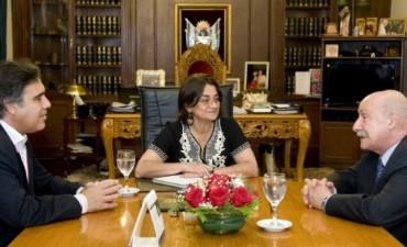 La Gobernadora recibió al CFI Consejo Federal de Inversiones