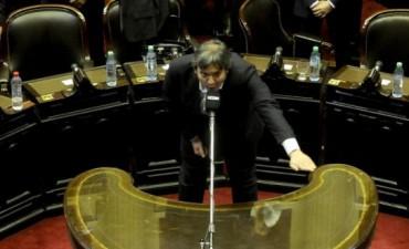 Sin presentes: el diputado Máximo Kirchner todavía no asistió al Congreso