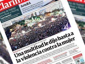 Un chiste machista en el diario Clarín generó repudio en las redes