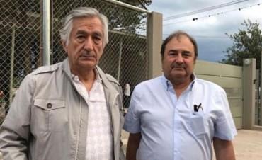 Rodríguez Saá, celebró la Nochebuena con Milagro Sala