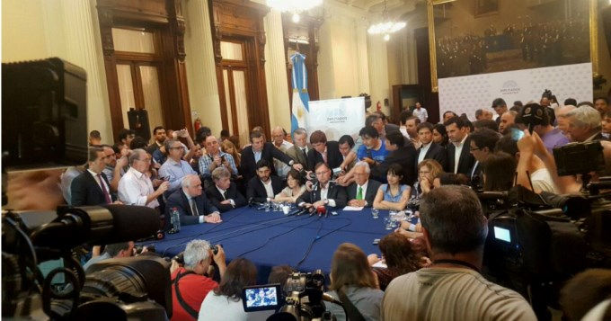 La oposición unificó el proyecto por Ganancias