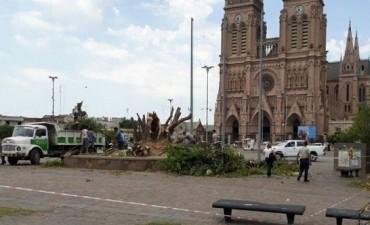 Temporal trágico: dos muertos en Luján