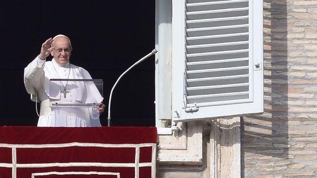 El Papa llamó a estar