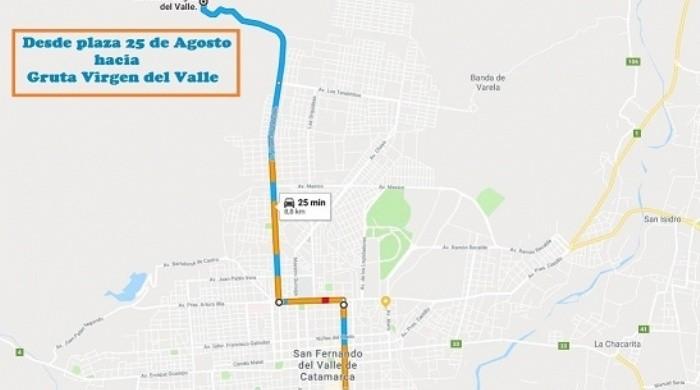 Linea de colectivo exclusiva unirá la Plaza de la Estación y La Gruta