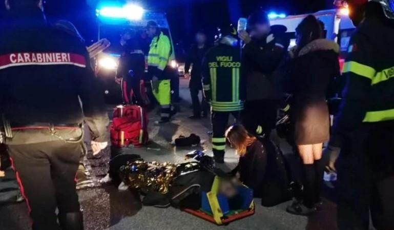 Tragedia en una disco de Italia: seis muertos y un centenar de heridos por una avalancha